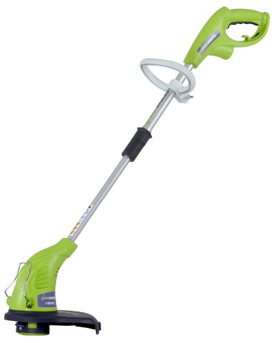 Greenworks 21212 13-Inch 4 Amp Electric String Trimmer Edger With Telescoping Handle
